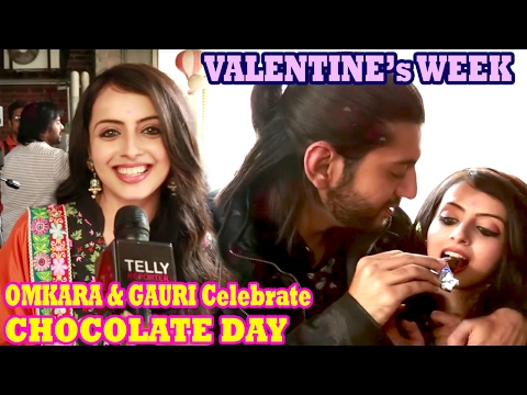 Kunal Jai Singh & Shreenu Parikh Celebrate CHOCOLATE DAY - Valentine's Week 2017 | Telly Reporter
