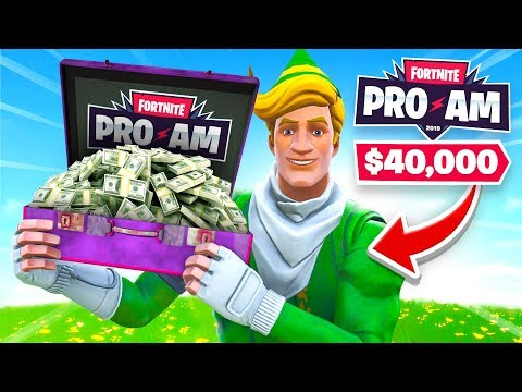 How We WON 40K For Charity in the Fortnite Pro Am