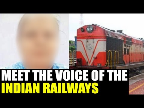 Indian railways mystery female announcer finally revealed | Oneindia News