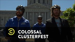 Colossal Clusterfest - The Definitive Segway Interview of T.J. Miller - Comedy Central