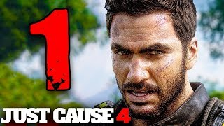 JUST CAUSE 4 [Walkthrough Gameplay ITA HD - PARTE 1] - RICO È TORNATO!!