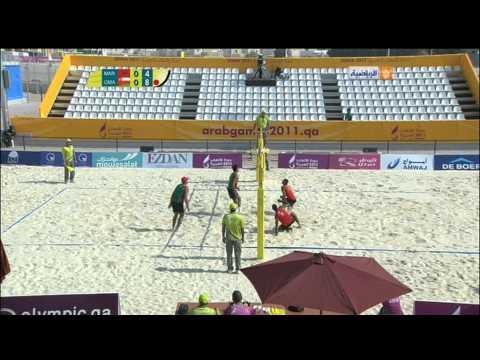 Maroc 0 - 2 Oman (Arab Games 2011 - Beach Volleyball)