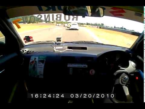 SAM ROBINSON - Taupo Motorsport Park Swift Cup Onboard  2010