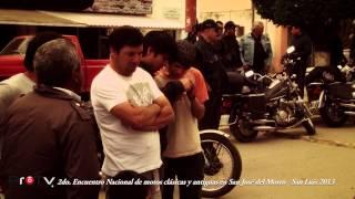 2do  Encuentro Nacional de motos clásicas y antiguas San José del Morro San Luis 2013