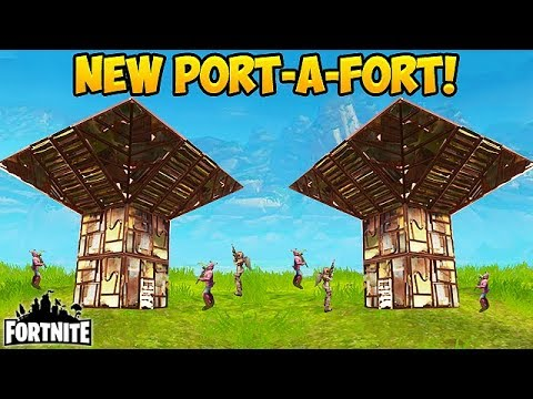 NEW PORT A FORT BEST PLAYS Fortnite Funny Fails and WTF Moments 162 Daily Moments