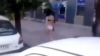 آزاده راه رفتن زن لخت در تهران