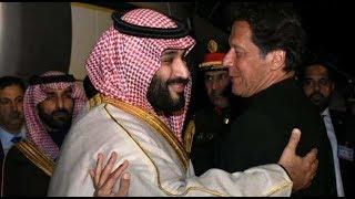 Saudi prince visits Pakistan, signs deals worth $20 billion to help its economy