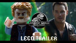 Jurassic World Trailer in LEGO Side by Side Comparison