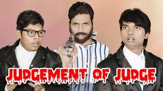 Judgement of Judge | Adalat | Hindi Comedy Video | Pakau TV Channel