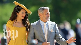 See all the famous faces at the royal wedding