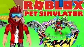 100 PETS PÅ EN GANG!? Pet Simulator #6