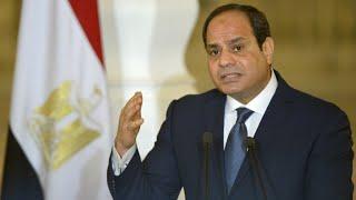 الرئيس المصري عبد الفتاح السيسي يعلن ترشحه لولاية رئاسية ثانية