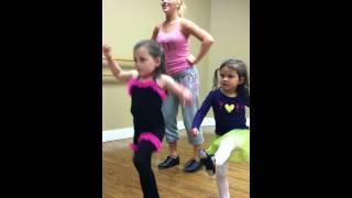 Tiki Room 4 Year Old Dance Practice