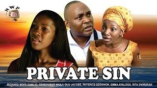 Private Sin    - Nigerian Nollywood Movie