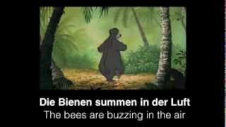 The Bare Necessities (German) - Subs & Translation