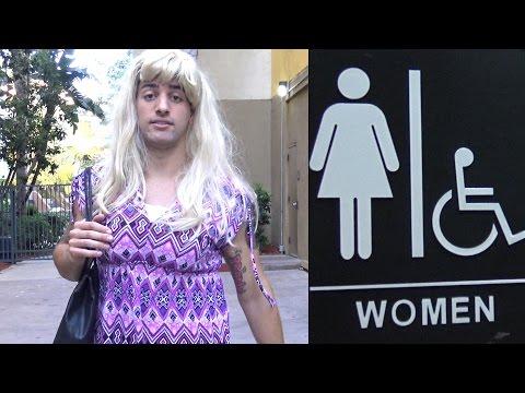 Transgender in Women s Bathroom Social Experiment