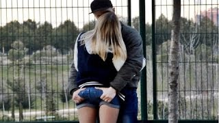 Kissing Pranks On Lips India 2016 - Best Kissing Prank Compilation August (Staring Contest)