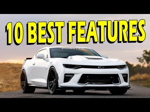 10 Cool Features of the 2016/2017 Camaro SS (1SS or 2SS)