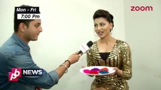 Urvashi Rautela Dedicates Colours To Actors | Exclusive
