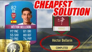 Hector Bellerin SBC Cheapest Solution | Squad Building Challenge | FIFA 17