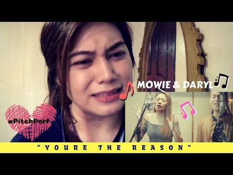 Morissette Amon & Daryl Ong sings (You Are The Reason - Calum Scott) cover Reaction