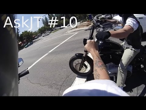 AskJT #10 -- First Ever Navy Q&A on a Motorcycle / rape in the Navy / tattoos in port...