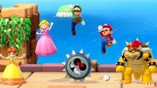 Super Mario Party - All Enemy Minigames