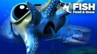 Giant CuttleFish Seeks Revenge! - Fish Feed Grow | 18