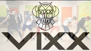 빅스(VIXX) - '대.다.나.다.너' 안무 연습 영상 (Practice 'G.R.8.U' dancing Video)