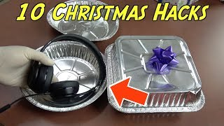 10 Christmas Gift Wrapping Hacks That Everyone Should Know - CHRISTMAS LIFE HACKS | Nextraker