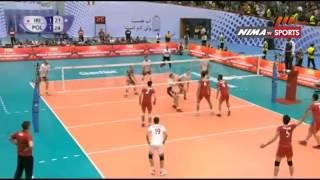 Highlights IRAN VS POLAND Volleyball game 1 Tehran