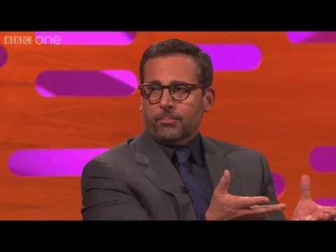 Steve Carell s famous chest waxing scene The Graham Norton Show Series 13 Episode 12 BBC One