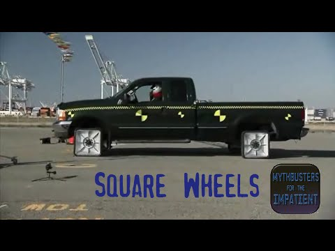 Square Wheels Mythbusters for the Impatient