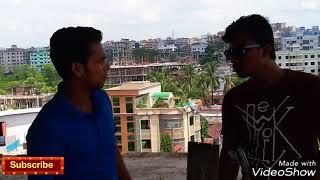 New Bangla Funny Video//Genjam Babla VS Lungi Faruk//New video 2017