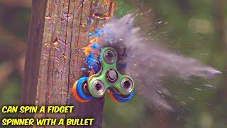 Can You Spin a Fidget Spinner with a Bullet?
