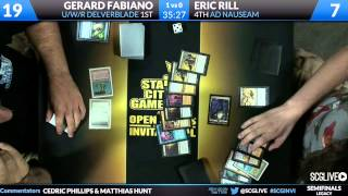 SCGINVI - Legacy - Semifinals - Gerard Fabiano vs Eric Rill