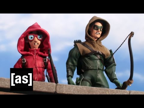The Nerd on the CW Robot Chicken Adult Swim