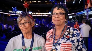 Clinton delegates react to Bernie Sanders