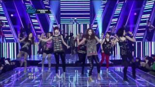 T-ara - Lovey Dovey live Comeback Stage 티아라 120105