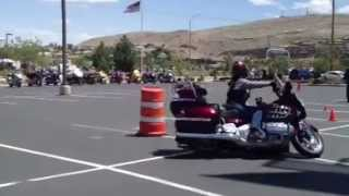 joanna needham wins goldwing riding competition