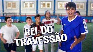 DESAFIO DO TRAVESSÃO COM JULIO COCIELO