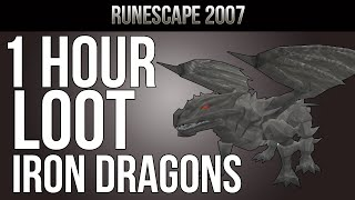 OSRS [Ranging Guide] Loot From 1 Hour of Iron Dragons | ''Slay Dem Dragons'' S1E2 MID-LEVEL