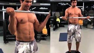 Varun Dhawan Hard Workout Movie Judwaa 2