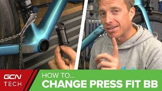How To Remove And Install A Press Fit Bottom Bracket