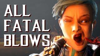 Mortal Kombat 11 - All Fatal Blows