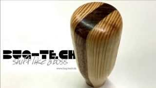 How to make a wooden shift knob