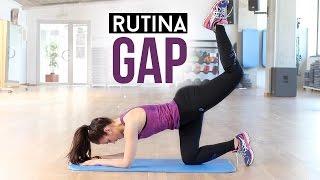 Rutina de GAP | Glúteos, abdomen y piernas