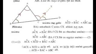 mathematics lessons in sinhala   part 01