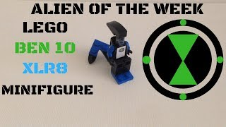 How to build a Lego Ben 10 Xlr8 Minifigure (Alien of the Week)(Cool Lego Ideas and Builds)