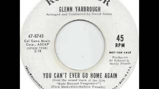 Glenn Yarbrough - You Can't Ever Go Home Again
